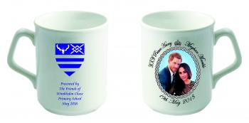 Personalised Royal Wedding Portrait Mugs